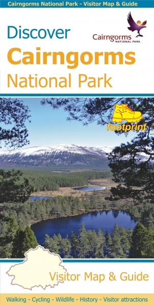 Discover Cairngorms Nat Park Footprint Visitor Map