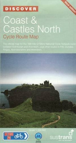 Coast & Castles North Cycle Route Map