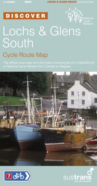 Lochs & Glens South Cycle Route Map