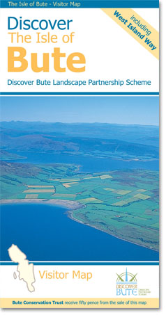 Discover the Isle of Bute Footprint Visitor Map