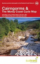 Cairngorms & Moray Coast Cycle Map 46