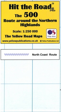 Hit the Road XL Map The 500 Route Around Northern Highlands