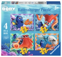 Jigsaw Finding Dory 4 in a Box
