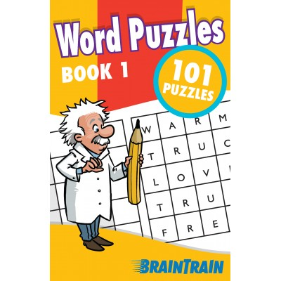 BrainTrain 101 Puzzles Word Puzzles Book 1