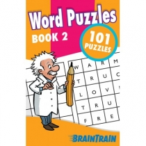 BrainTrain 101 Puzzles Word Puzzles Book 2