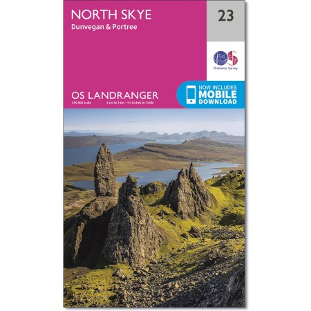 Landranger Active 23 North Skye
