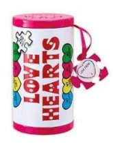 Jigsaw Love Hearts Gift Tin 250pc