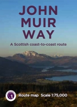 John Muir Way Route Map
