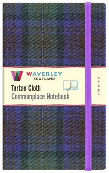 Tartan Cloth Notebook Large: Isle of Skye