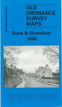 Old OS Map Duns & Greenlaw 1898