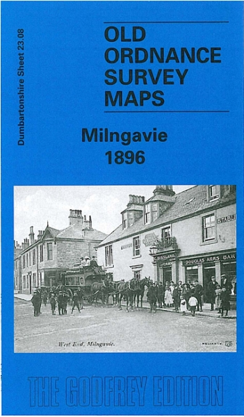 Old OS Map Milngavie 1896