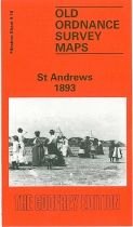Old OS Map St Andrews 1893