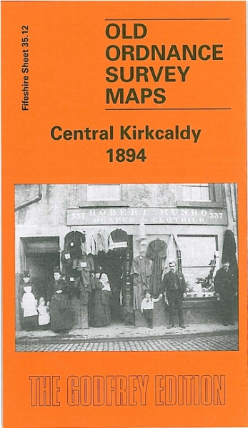 Old OS Map Central Kirkcaldy 1894