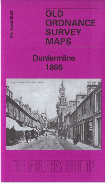 Old OS Map Dunfermline 1895