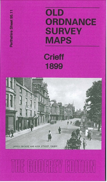 Old OS Map Crieff 1899