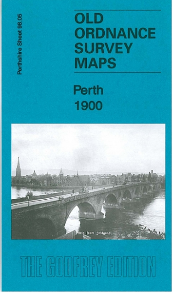 Old OS Map Perth 1900