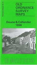 Old OS Map Doune & Callander 1898
