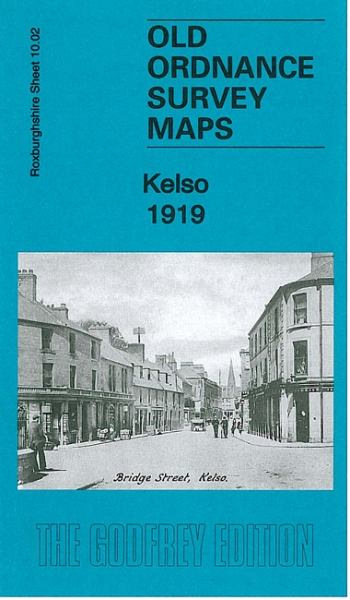 Old OS Map Kelso 1919