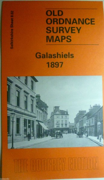 Old OS Map Galashiels 1897