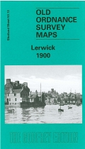 Old OS Map Lerwick 1900