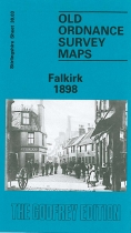 Old OS Map Falkirk 1898