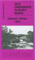Old OS Map Dalkieth (West) 1905