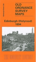 Old OS Map Edinburgh (Holyrood) 1894