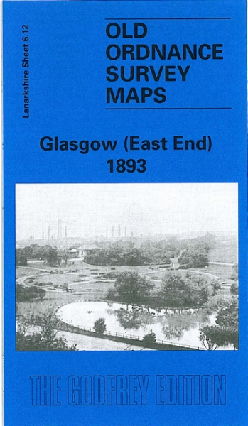 Old OS Map Glasogw (East End) 1893