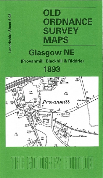 Old OS Map Glasgow (NE) 1893