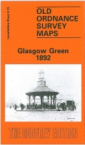 Old OS Map Glasgow Green 1892