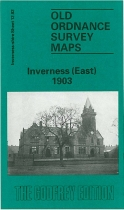 Old OS Map Inverness (East) 1903