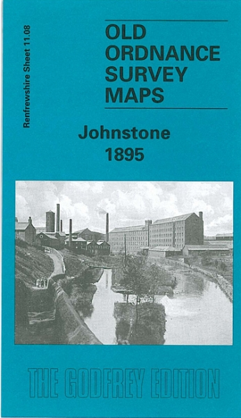 Old OS Map Johnstone 1895