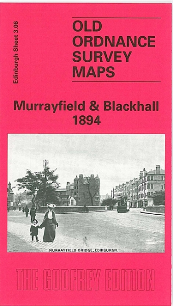 Old OS Map Murrayfield & Blackhall 1894