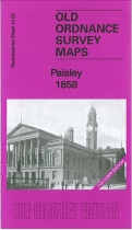 Old OS Map Paisley 1858