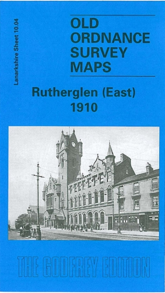 Old OS Map Rutherglen (East) 1910