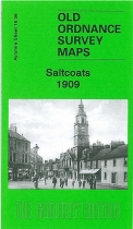 Old OS Map Saltcoats 1909