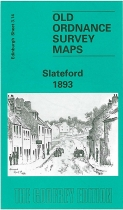 Old OS Map Slateford 1893