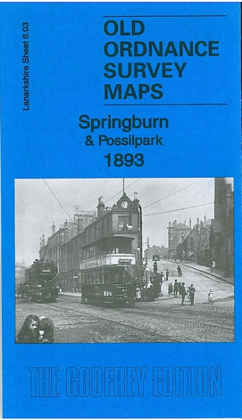 Old OS Map Springburn & Possilpark 1893