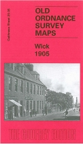 Old OS Map Wick 1905
