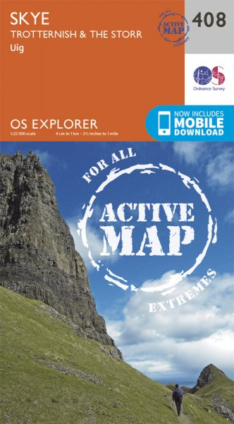 Explorer Active 408 Skye Trotternish & The Storr