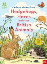 Nature Sticker Book: Hedgehogs, Hares & British Animals