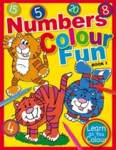 Numbers Colour Fun Book 1