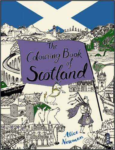 Colouring Book of Scotland, The (Feb)