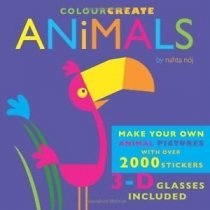 Colour & Create Animals (Jan)