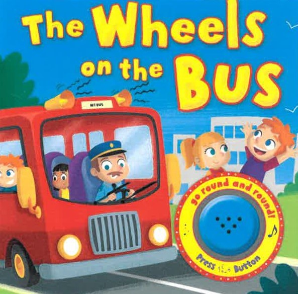 Wheels on the Bus Sound Book  (Jan)