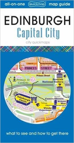 Edinburgh Capital City Map (Feb)