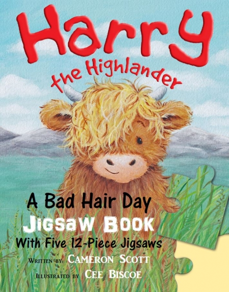 Harry the Highlander: A Bad Hair Day Jigsaw Book  (May)