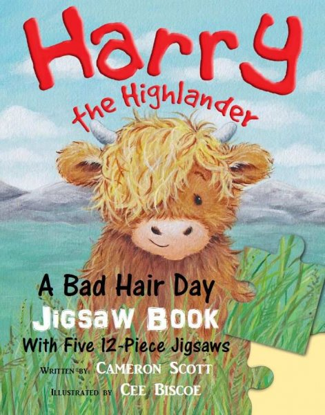 Harry the Highlander: A Bad Hair Day Jigsaw Book