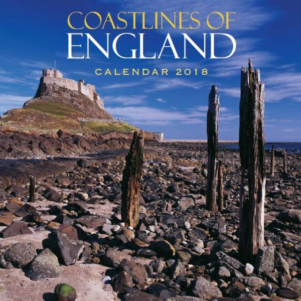 2018 Calendar Coastlines of England (2 for £5) (Mar)