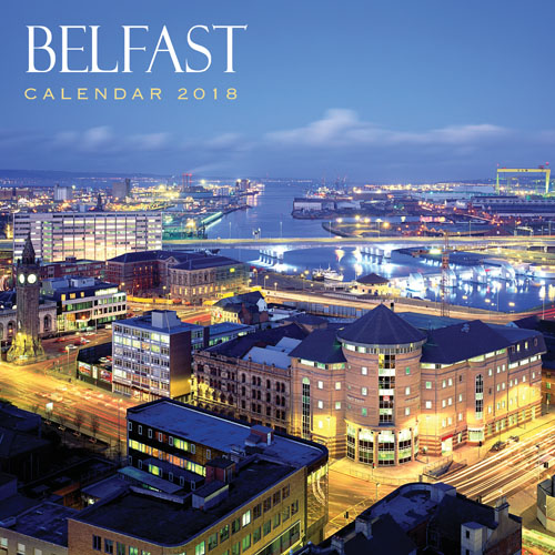 2018 Calendar Belfast  (2 for £5) (Mar)